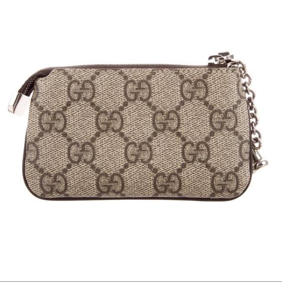 b047892f4d9d47 Gucci Accessories | Authentic Gg Supreme Key Pouch | Poshmark